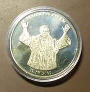 Medalla Token Jeton Alemania Benedictus XVI  #m159 - Ohne Zuordnung