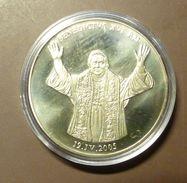 Medalla Token Jeton Alemania Benedictus XVI  #m160 - Ohne Zuordnung