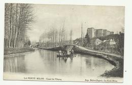 LA FERTE MILON Canal De L'Ourcq - Frankreich