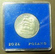 POLEN - POLAND 20 Zlotych 1980 BU UNC Ship Daru Pomorza #m163 - Münzen