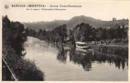 """BELGIQUE - NAMUR - DINANT - ANSEREMME - Bateaux """"Mouettes""""  5 Cartes (Service Dinant-Anseremme). A VOIR ! - Dinant"""