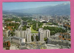 38 Isere Grenoble Lot De 3 Cartes De Vue Aerienne ( 6 Scans ) - Grenoble