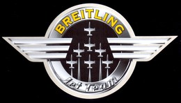 Patrouille Breitling  Jet Team 2014 Avions 177x97 - Aufkleber