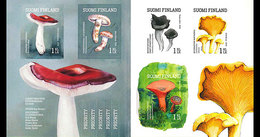 FINLAND 2016 BOOKLET Wild Mushrooms - Champignons
