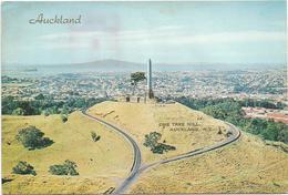 T1276 Auckland - Cornwall Park - One Tree Hill / Viaggiata 1977 - Nuova Zelanda