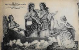 CPA. - N° 94 - Arrivée Des Saintes-Maries En Provence - TBE - Saintes Maries De La Mer