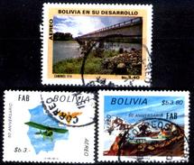Bolivia-0216 - Posta Aerea - 1973-1974 - - Bolivia