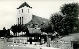 HERTS - BISHOPS STORTFORD - ALL SAINTS CHURCH RP Ht209 - Hertfordshire