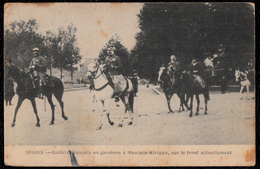SPAHIS - SOLDATS FRANCAIS ( Et Zouaves ? ) EN GARNISON A MASCARA AFRIQUE - Sur Le Front Actuellement - Régiments