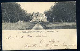 Cpa Du 91 --  Marolles En Hurepoix Le Château       ... Canton De  Brétigny  YPO1 - Bretigny Sur Orge