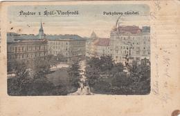 CZECH REPUBLIC - Prague 1908 - Kral Vinohrady - Purkynovo Namesti - Czech Republic