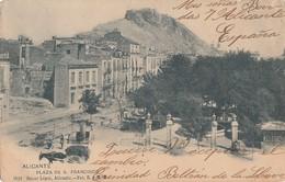 SPAIN - Alicante - Plaza De S. Francisco - Alicante