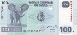 CONGO DEMOCRATIC REPUBLIC 100 FRANCS 2007 P-98 UNC  [CD320a] - Democratic Republic Of The Congo & Zaire