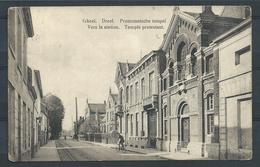 +++ CPA - GEEL - GHEEL - Dreef - Protestantsche Temple - Vers La Station - Temple Protestant  // - Geel