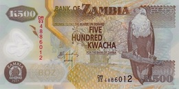 ZAMBIA 500 KWACHA 2011 P-43h UNC  [ZM145h] - Zambie