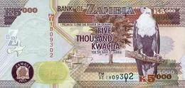 ZAMBIA 5000 KWACHA 2011 P-45g UNC [ZM147g] - Zambia