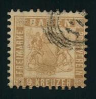 9 Kreuzer Fahlbraun, Ein Zahn Höher Geprüft Brettl BPP - Baden
