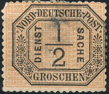 Stamp North German 1870 Confederation Official 1/2gr Mint  Lot22 - Conf. De L' All. Du Nord