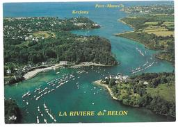 29 - A Proximité De Moëlan Sur Mer Et Riec Sur Belon - LA RIVIERE Du BELON - Ed. YCA N° 10130 - 1995 - Moëlan-sur-Mer