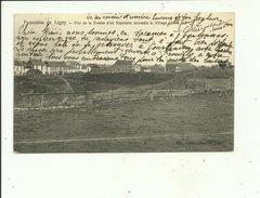 Ligny Panorama Pris De La Tombe D'où Napoléon Incendia Le Village - Sombreffe