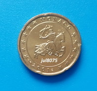 RARE : 20 Cents Monaco 2001, Neuve - Monaco