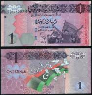 Libya P 76 - 1 Dinar 2013 - UNC - Libia