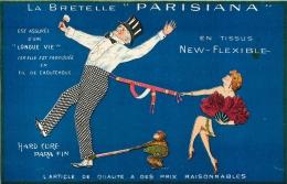 PUBLICITE LA BRETELLE PARISIANA - Pubblicitari