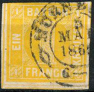 Stamp German States  Bavaria 1862 1kr Used Lot7 - Beieren
