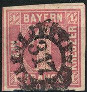 Stamp German States  Bavaria 1850-58 1kr Used Lot20 - Beieren
