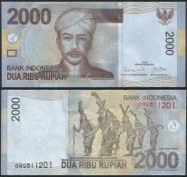 Indonesia DEALER LOT ( 5 Pcs ) - 2000 2.000 Rupiah 2009 - UNC - Indonesia