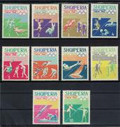 Albania 1964 _ Olympic Games - Tokyo, Japan _ Full Set - MNH** - Albania