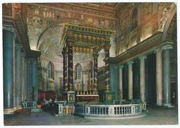 ROME / ROMA -Basilica Di Santa Maria Maggiore -Interno / Basilique De Sainte-Marie Majeure -Non écrite -Scan Recto-verso - Chiese