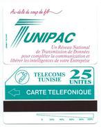 TUNISIE TUNIPAC Erreur TELEFONIQUE Variété MINT URMET NEUVE - Tunisie