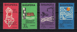 Albania 1966 _ UNESCO / The International Decade Of Water Supply _ Full Set - MNH** - Albania