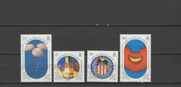 Solomon Islands 1989 Space Apollo 11 Set Of 4 MNH