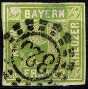 Stamp German States  Bavaria 1850-58 9kr Used Lot16 - Bavière