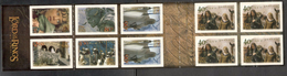 NewZealand2001:Michel1961-6 And 3 Extra Of1961 In Booklet - Carnets