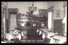 PENSÃO EDEN (Sala De Jantar) Colares. Postal SINTRA Portugal - Lisboa