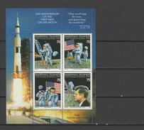 Marshall Islands 1994 Space Apollo, JFK Kennedy S/s MNH
