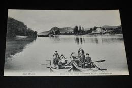 68- Der Rhein, Blick Auf Der Insel Grafenwert Auf Das Siebengebirge - Koenigswinter