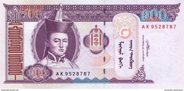 MONGOLIA 100 ТӨГРӨГ (TÖGRÖG) 2008 P-65b UNC  [MN422b] - Mongolia
