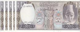 SYRIA 500 LIRA 1990 P-105 LOTX5 UNC NOTES */* - Syria