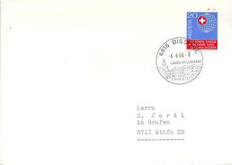 Brief  Bissone - Stäfa  (Schnapsdatum 6.6.66)               1966 - Covers & Documents
