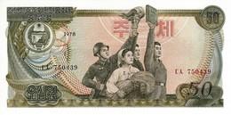 NORTH KOREA 50 WON 1978 P-21a UNC [KP310a ] - Corée Du Nord