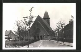 AK Eindhoven, Pastoor Van Arskerk, Blick Auf Kirche - Eindhoven