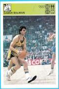 DAMIR SOLMAN KK Jugoplastiika - Yugoslavia Vintage Card Svijet Sporta * Basketball Basket-ball Baloncesto Pallacanestro - Apparel, Souvenirs & Other