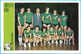 KK MONTING Basketball Woman Club - Yugoslavia Vintage Card Svijet Sporta * Basket-ball Baloncesto Pallacanestro - Apparel, Souvenirs & Other