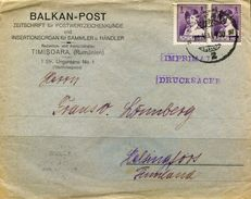 PA1776 Romania 1930 King Cover MNH - Covers & Documents