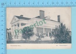 Michillinda Mich. -White Ledge, Undivide  - Postcard, Post Card 2 Scans - Etats-Unis