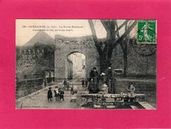 44 LOIRE ATLANTIQUE, GUERANDE, La Porte Bizienne, Animée, 1912, (Vassellier) - Guérande